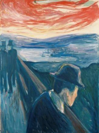 1. Photo: © Thielska Galleriet  Caption: Edvard Munch, Despair, 1892 Oil on canvas Thielska Galleriet