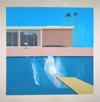 DavidHockney A Bigger Splash 1967 © David Hockney