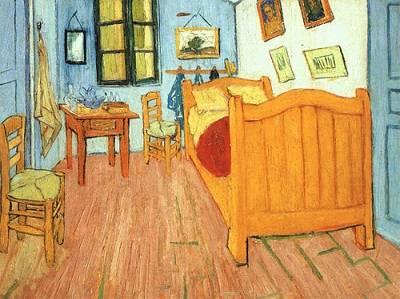 Habitación, por Van Gogh, 1888, Museo Van Gogh, Ámsterdam