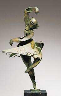 bailarina, pablo gargallo