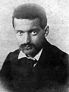 Paul Cézanne, hacia 1861.