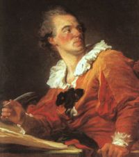 Inspiración (autorretrato), 1769.