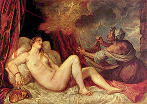 """""""Danae esperando la lluvia"""", la obra de Tiziano con la que se inicia la exposición"""
