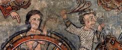 Pinturas murales de la Seu d'Urgell, © Abegg-Stiftung. CH-3132 Riggisberg, 2003; Fotografía: Christoph von Viràg; Cortesía: MNAC