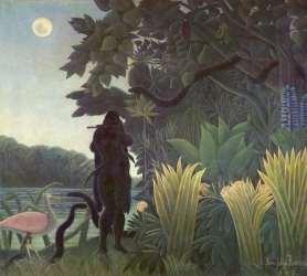 La encantadora de serpientes, de Henri Rousseau