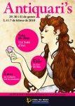 Cartel de la Fira d' Antiquaris y Saló d'Art de Reus 2009