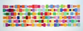 Allan Mccollum. 216 Plaster Surrogates / 216 sustitutos de yeso. 1987-1988. Yeso pintado. © Allan Mccollum; Cortesía: Fundación 'la Caixa'