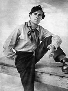 Retrato de Amedeo Modigliani, el año 1918.