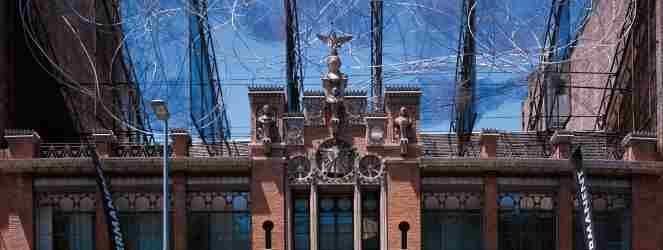 Fundació Antoni Tàpies, Barcelona; © Marc Coromina; Cortesía: Fundació Antoni Tàpies