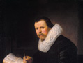 Writer at His Desk