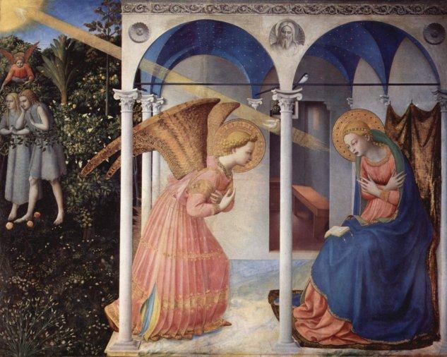 angelico annunciation prado