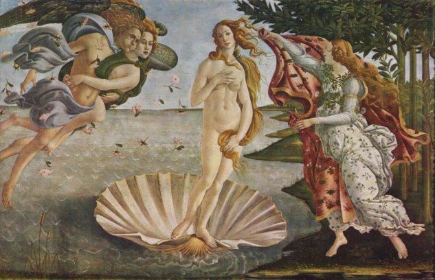botticelli el nacimiento de venus galleria degli uffizi