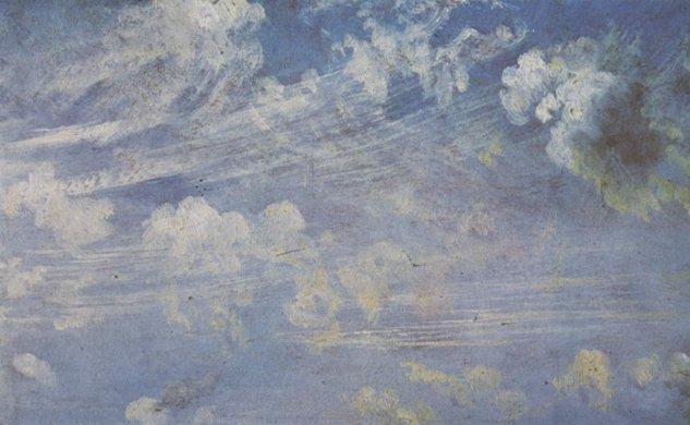 Cirros (estudio de nubes) -  John  Constable - artelista.com