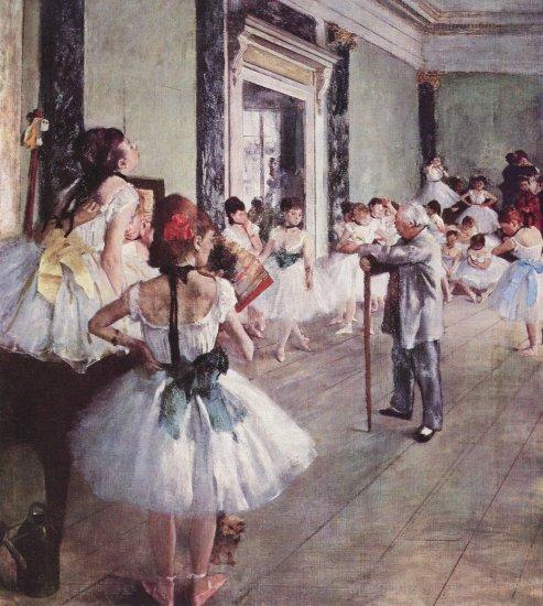 degas la clase de danza museo dorsay