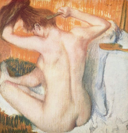 degas after the bath hermitage museum