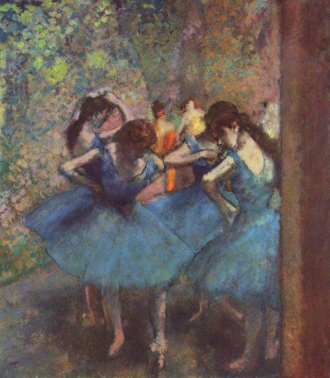 degas bailarinas azules museo dorsay