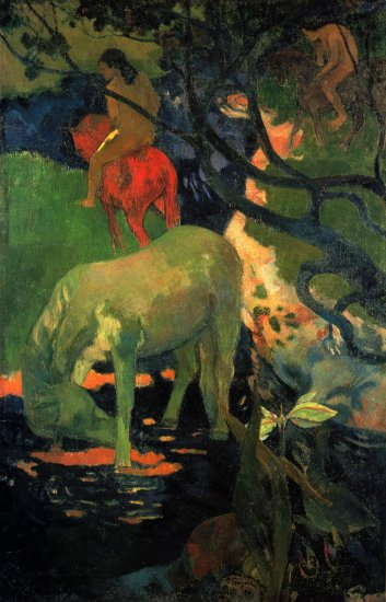 gauguin the white horse musee dorsay