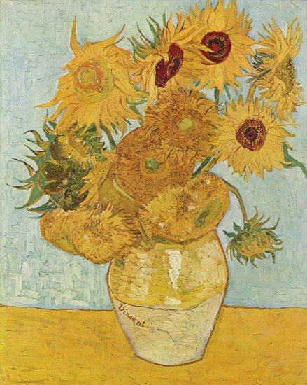 gogh sunflowers 1888 neue pinakothek muenchen bayerische staa