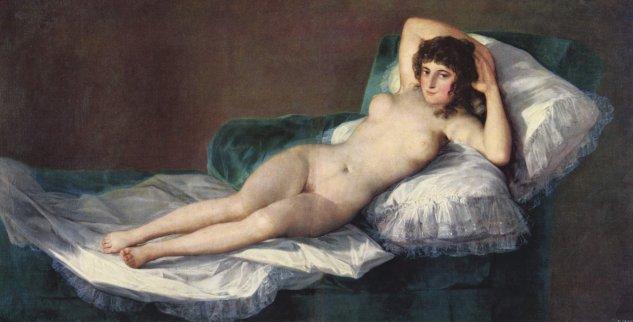 goya la maja desnuda 1797 1800 prado