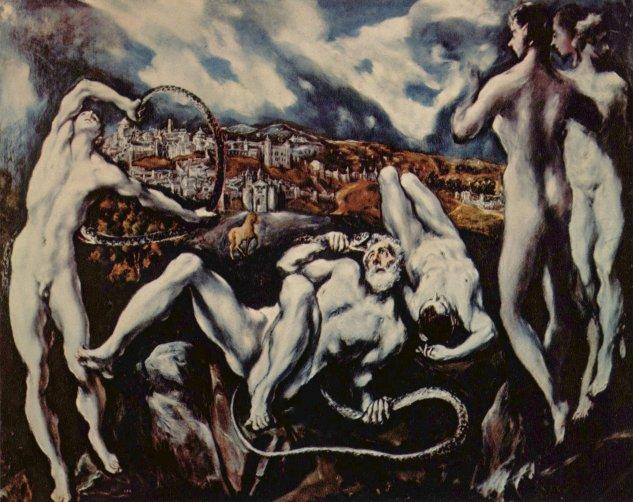 greco laooconte galeria nacional de arte de washington