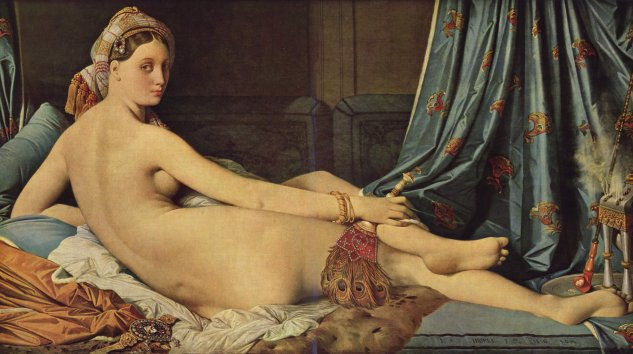 ingres la grande odalisque the large odalisque 1814 louvre