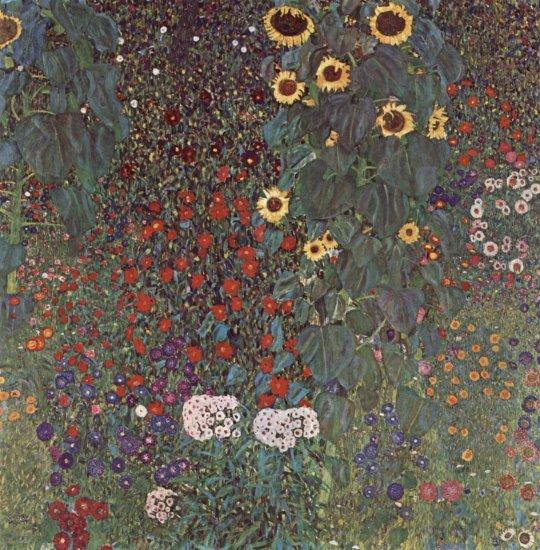 klimt sunflowers 1912 oesterreichische galerie belvedere
