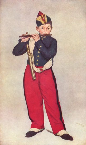 manet le fifre the fifer 1866 musee dorsay