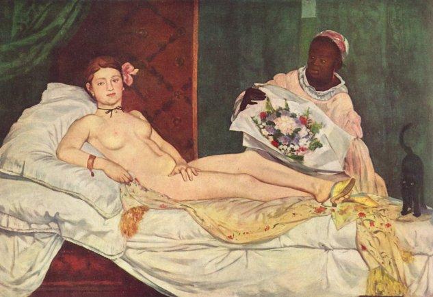 manet olympia 1863 museo dorsay