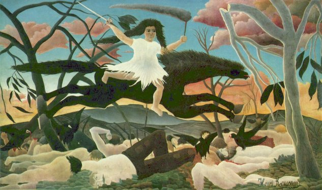 rousseau war museo dorsay