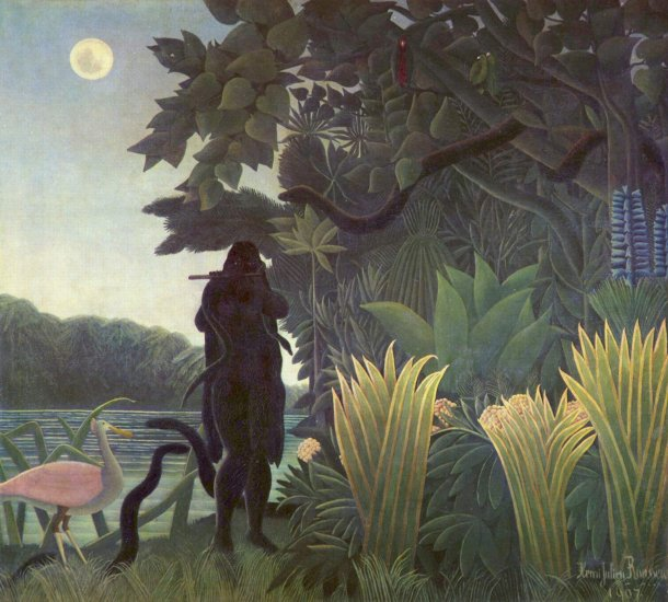 rousseau the snake charmer musee dorsay