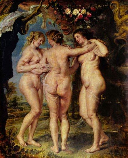 rubens the three graces prado
