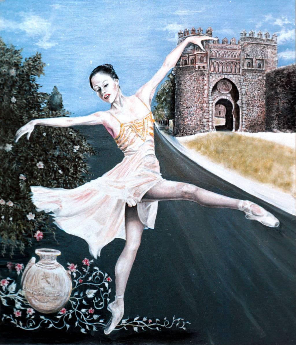 Paloma en la puerta del sol marcelo rossetti Obras puerta del sol