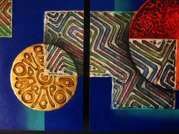 Mixturas elmer avila - Cuadros con texturas abstractos ...