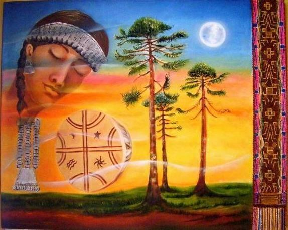 Image result for fotos antiguas de abuelos mapuches