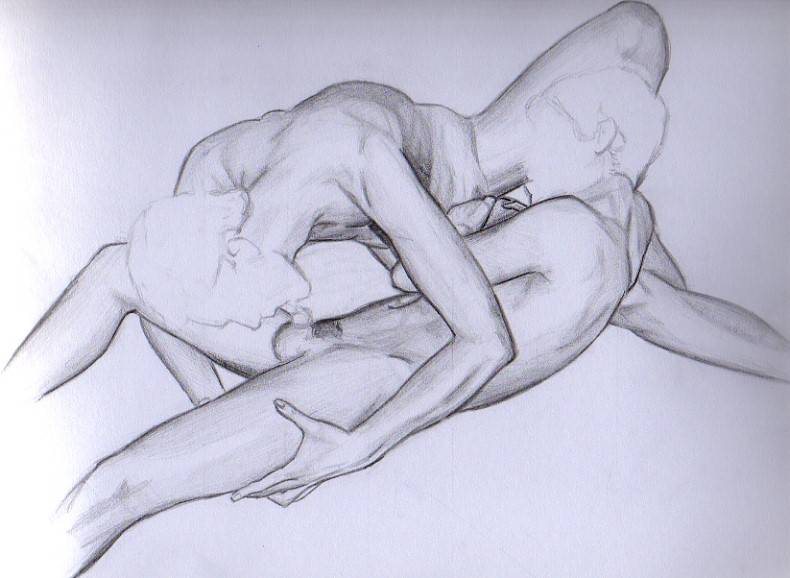 Dibujos de arte de bondage gay
