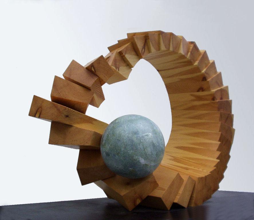 El paso del tiempo alvarez ilzarbe - Esculturas de madera abstractas ...