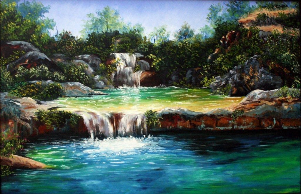 12-030 Cascada Doble Fanny Barreto
