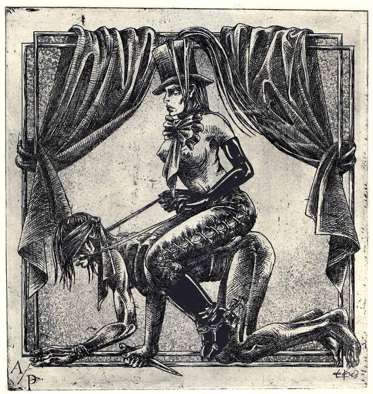 Erotic ex libris alphonse inoue - 1 3