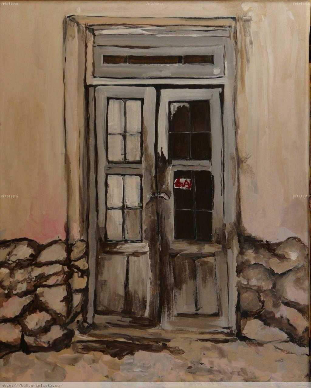 La puerta de tilcara jujuy laura eyheramonho for Pintura de tiza para puertas