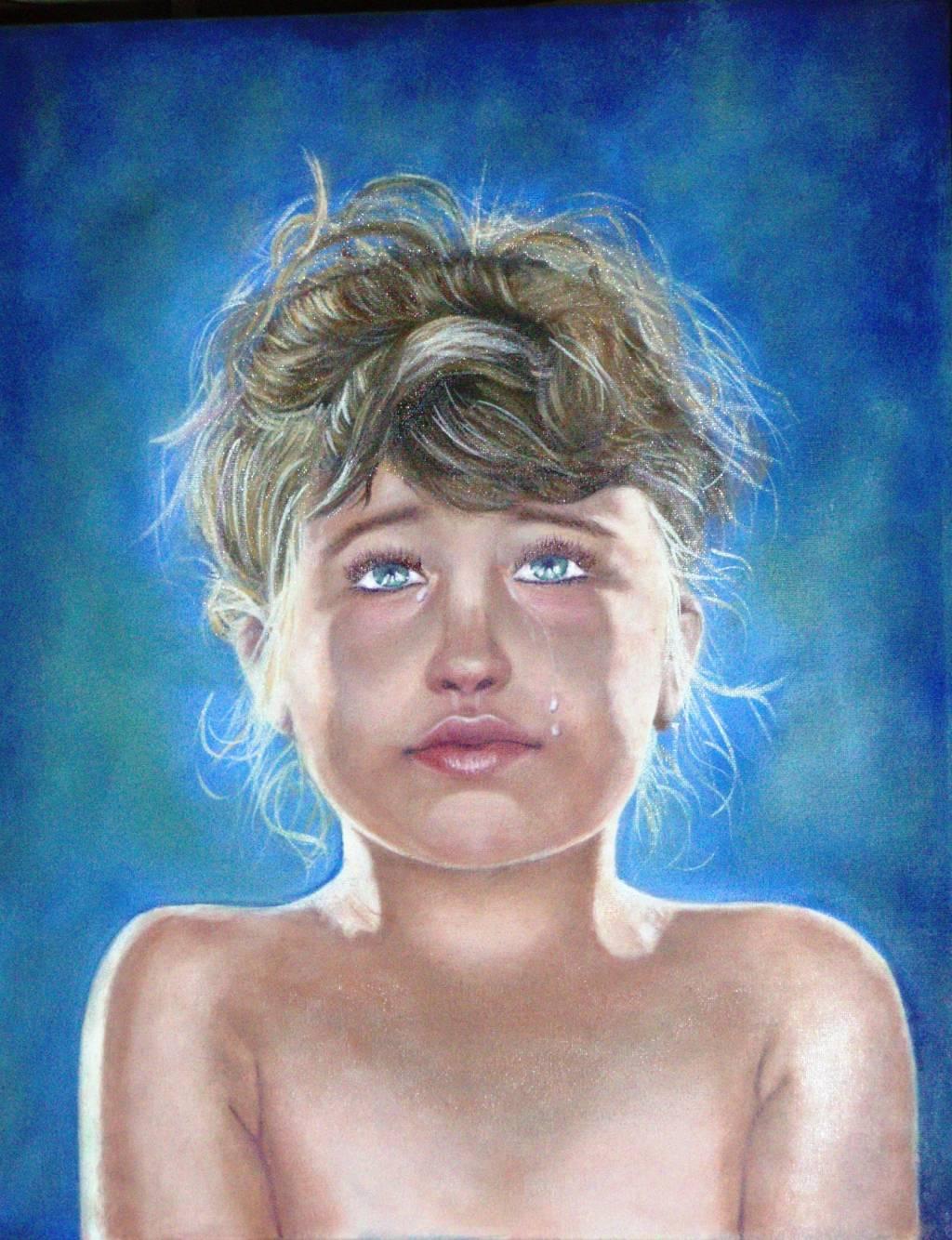 Niña llorando Rebeca Martinez Benito - Artelista.com - en