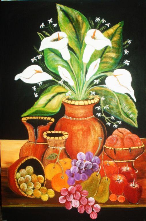 bodegon con flores #2 V. Eckert - Artelista.com