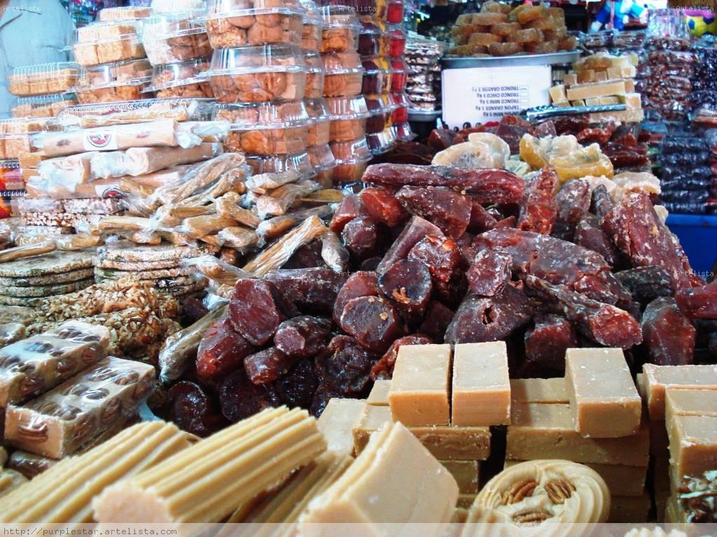 Dulces típicos Mexicanos Bodegones Color (Digital)