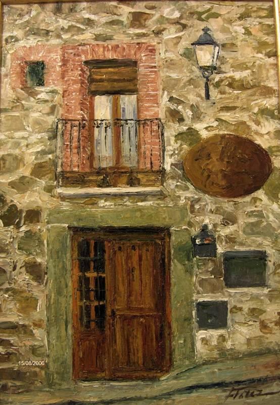 Una casa en el pueblo maribel fl rez bielsa - Fachadas casas de pueblo ...