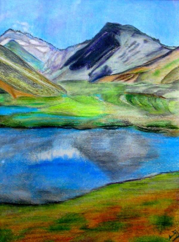 Imagenes De Paisajes Faciles Para Dibujar A Color