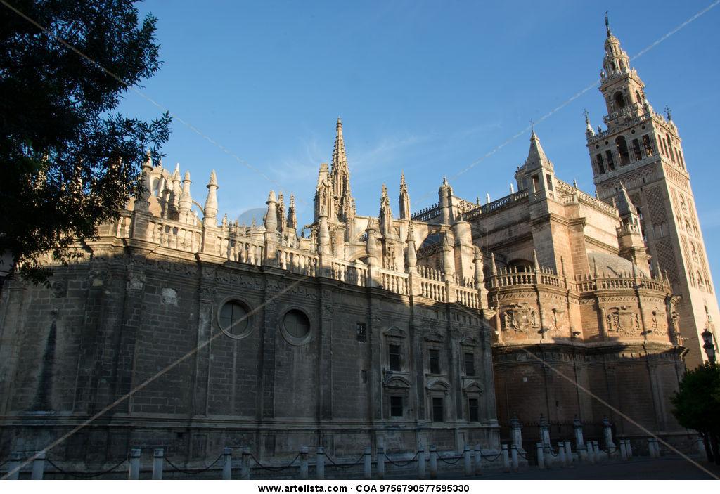 Catedral de sevilla corrado baratta - Arquitectura tecnica sevilla ...