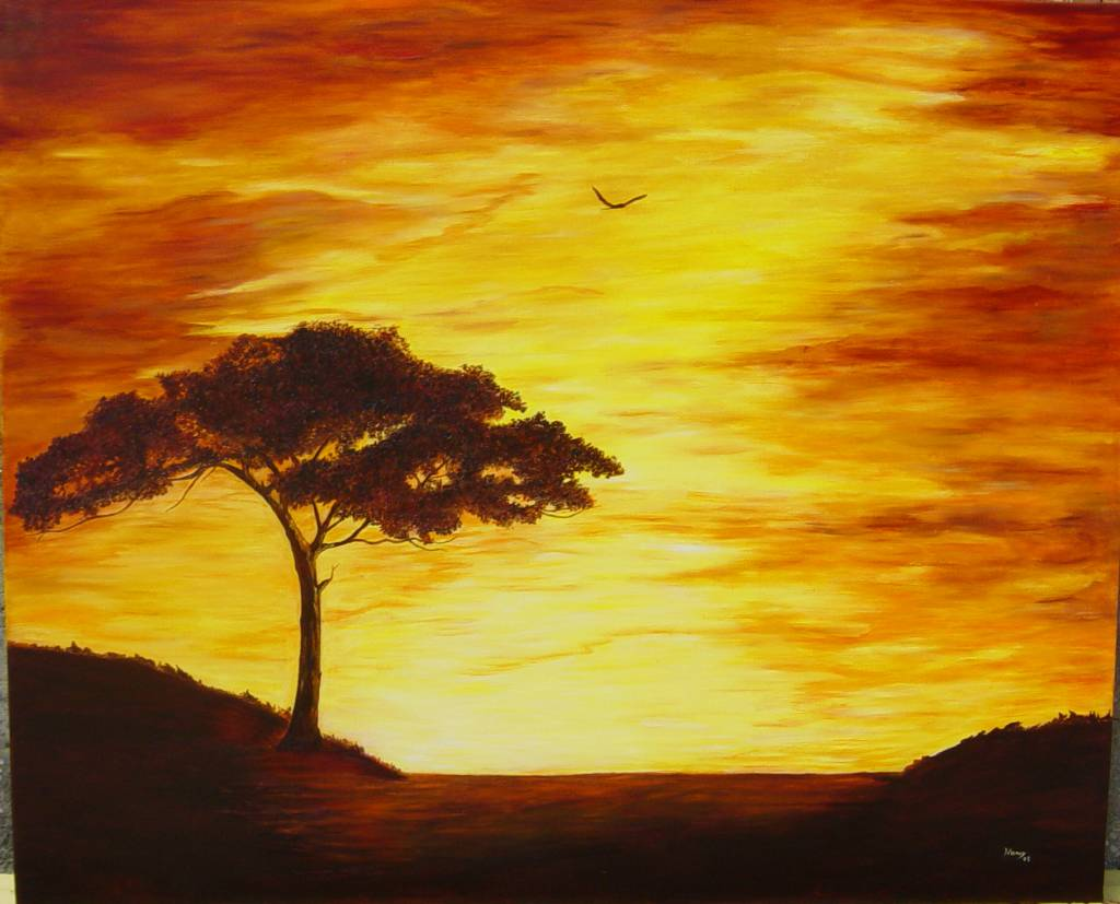 Easy To Paint Nature Pictures