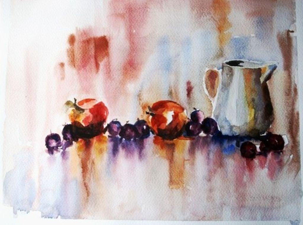 Bodeg n de frutas conaguayaceite oleos y acuarelas - Fotos de bodegones de frutas ...