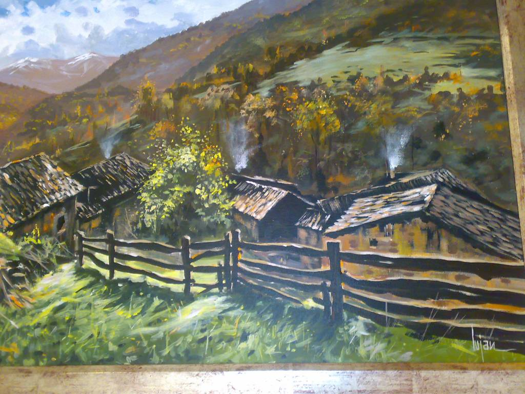 San andr s de li bana asturias josep maria lujan sanz - Pintores en asturias ...