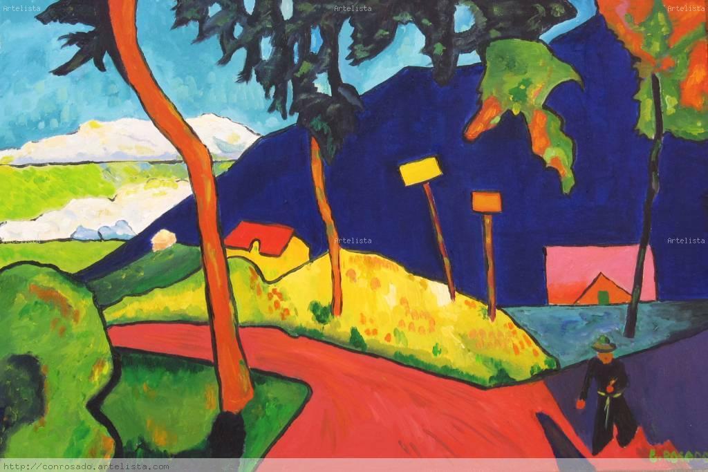 Pintura: Gabriele Munter