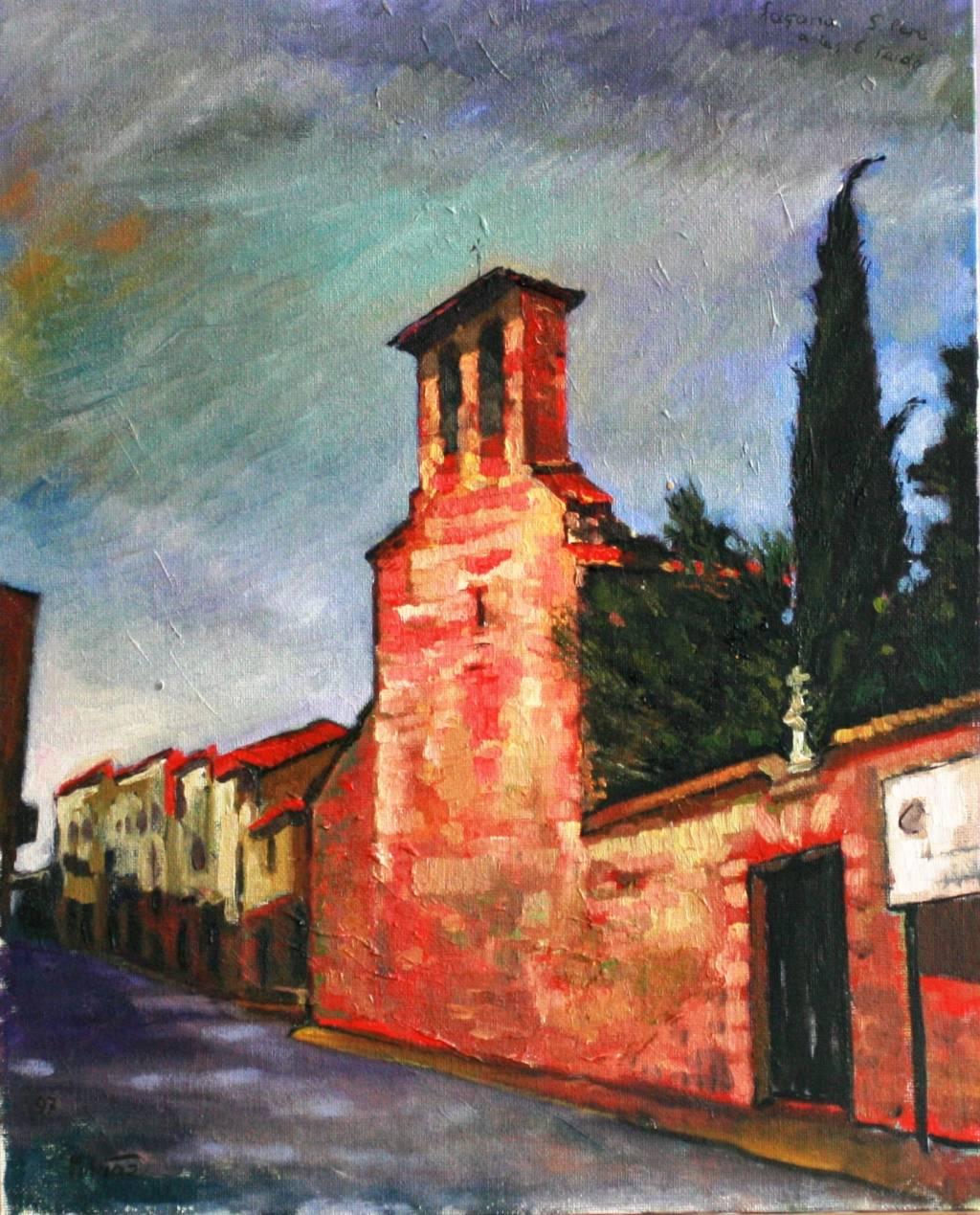 Iglesias de san pedro en terrassa miquel - Pintores en terrassa ...